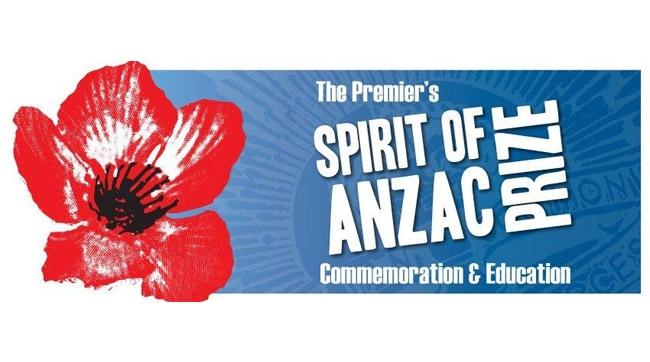The Premier's Spirit of ANZAC prize